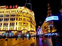 Nanjing road, Shanghai, China 1 Royalty Free Stock Images