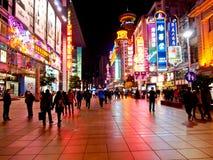 Nanjing road, Shanghai, China 3 Stock Photography