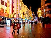 Nanjing road, Shanghai, China 7 Royalty Free Stock Photos