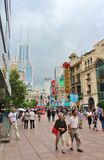 Nanjing Road, Shanghai Stock Photography