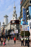 Nanjing Road in Shanghai Stock Photo