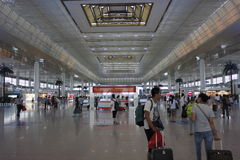 Nanjing south railway station Royalty Free Stock Image
