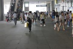Nanjing south railway station Royalty Free Stock Photography