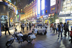 Nanjing street Royalty Free Stock Photography
