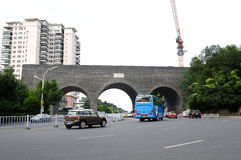 Nanjing Taiping Gate City Wall Stock Photos