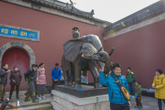 Nanjing were scenery Royalty Free Stock Image