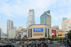 Nanjing Xinjiekou CBD, Nanjing, China Fotografia de Stock