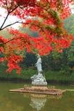 Nanjing Xixia mountain in Autumn Royalty Free Stock Photography
