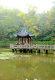 Nanjing Xixia mountain and temple in Autumn Stock Photos