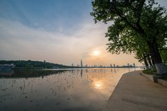 Nanjing xuanwu lake Stock Images
