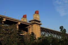 Nanjing Yangtze River Bridge, China Royalty Free Stock Images