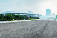 Nanjing Youth Olympic Hall Stock Images