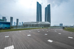 Nanjing Youth Olympic Village scenery Stock Images
