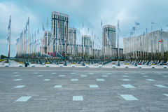 Nanjing Youth Olympic Village scenery Stock Photos