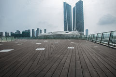 Nanjing Youth Olympic Village scenery Stock Photography