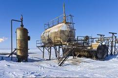 Nank del aceite Fotos de archivo