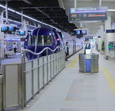 Express train Osaka Japan Stock Photo