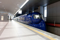 NANKAI-luchthaventrein Royalty-vrije Stock Afbeeldingen