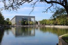 Nankai universitet i den tianjin staden Royaltyfria Bilder