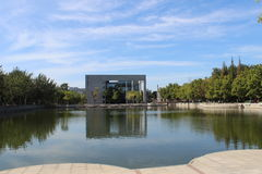 Nankai universitet i den tianjin staden Arkivbild