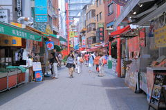 Nankin Chinatown in Kobe Japan  Royalty Free Stock Photo