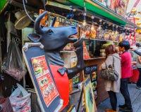 Nankinmachi , Kobe Chinatown Royalty Free Stock Images