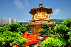 Nanl Lian Garden Stock Photography