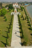 Nanlou Commemorative Park Aerial View in Kaiping, Guangdong, China Royalty Free Stock Images