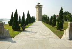 Nanlou Commemorative Park in Kaiping, Guangdong, China Stock Images