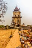 Nanmyin or watchtower of Ava Stock Photography