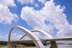 Nanning-Brücke lizenzfreie stockbilder