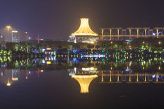 Nanning, China-Nov 9, 2016: ЭКСПО Кита-АСЕАН столицы t стоковое фото