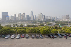 Nanning, China-Nov.9, 2016: City view from China-ASEAN EXPO of t Royalty Free Stock Images