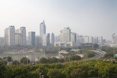 Nanning, China-Nov.9, 2016: City view from China-ASEAN EXPO of t Stock Image