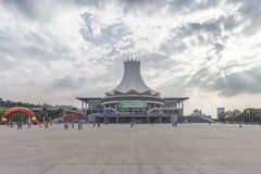 Nanning, China-Nov 9, 2016: EXPO CHINA-ASEAN do capital de t Fotografia de Stock Royalty Free
