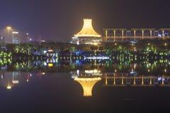 Nanning China-Nov 9 2016: EXPO KINA-ASEAN av huvudstaden av t Arkivfoto