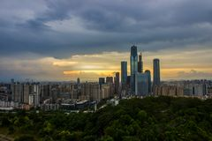 Nanning city royalty free stock images