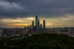 Nanning city stock images
