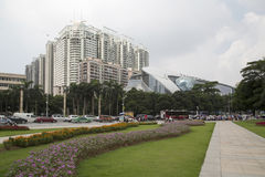 Nanning city square Royalty Free Stock Photos