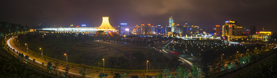Nanning Exhibition Center Royalty Free Stock Images