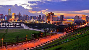 Nanning International Convention and Exhibition Center Surrondings Stock Photography