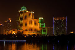 Nanning night Royalty Free Stock Image