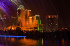 Nanning night Royalty Free Stock Photos
