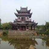 Nanning, uma cidade em China do sul fotos de stock royalty free