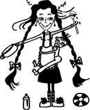 nanny libre illustration