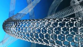 Nano материал, волокно углерода стоковая фотография rf