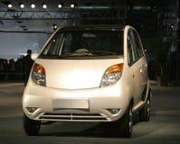 Nano at Auto expo in Delhi, royalty free stock photography