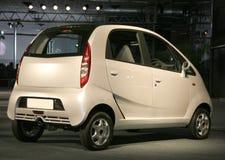 Nano at Auto expo in Delhi,. New Tata Car Nano at Auto expo in Delhi, India Royalty Free Stock Images