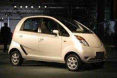 Nano in AutoExpo in Delhi, Stock Foto