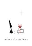 Nano di Natale Immagine Stock